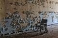 Картинка стена, интерьер, коляска
