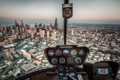 Картинка город, Chicago, Helicopter