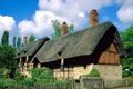 Картинка облака, england, небо, cottage, дом, забор, коттедж