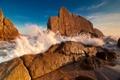Картинка море, природа, камни, скалы, волна