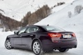 Картинка машина, обои, Maserati, Quattroporte, мазерати, задок