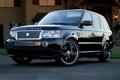 Картинка дом, отражение, черный, фары, Land Rover, range rover, дики