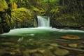 Картинка вода, река, камни, водопад